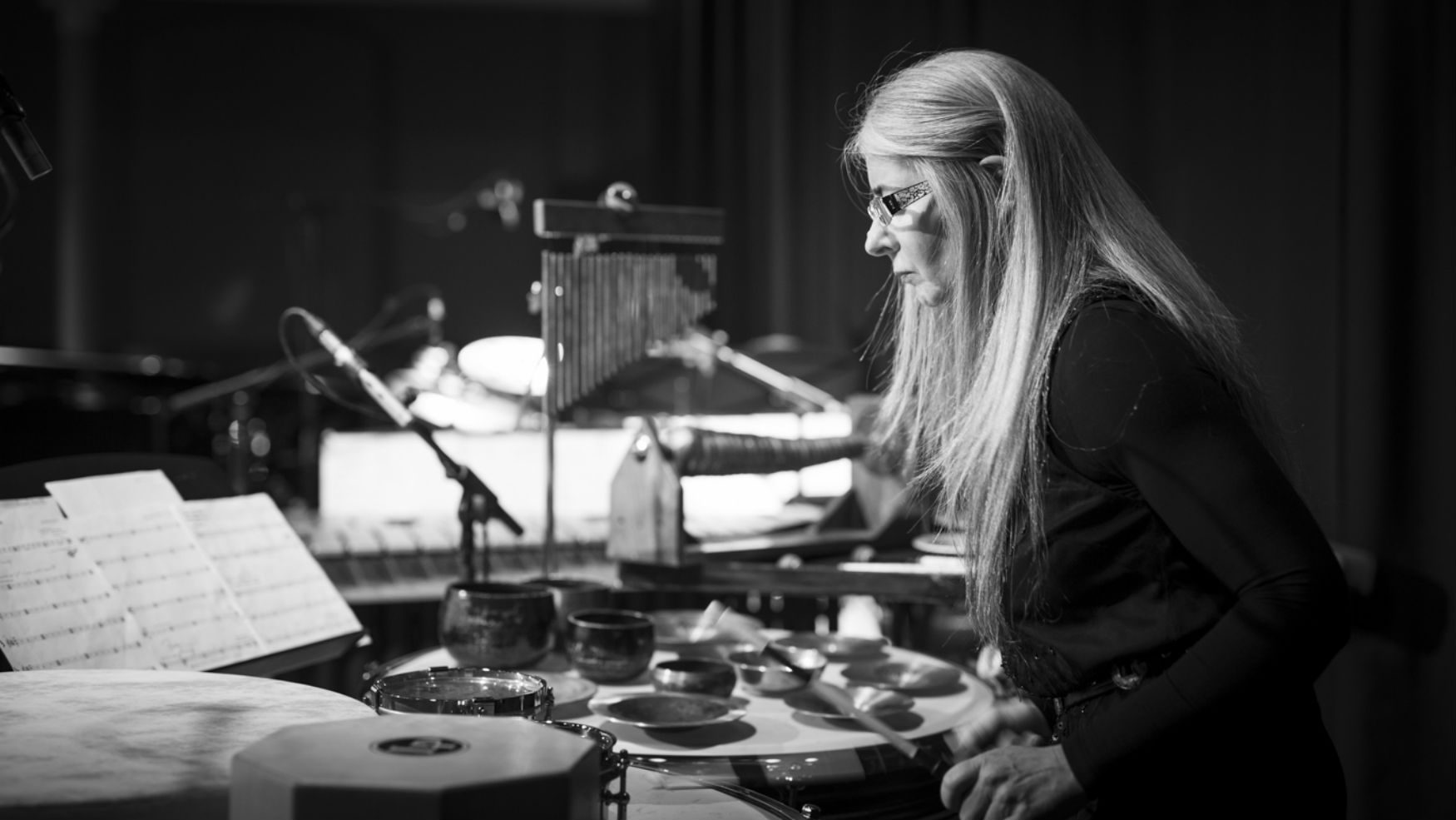 Dame Evelyn Glennie Adam Bulley