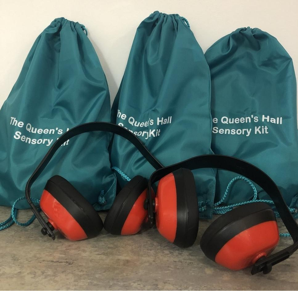 The Queen's Hall sensory kits