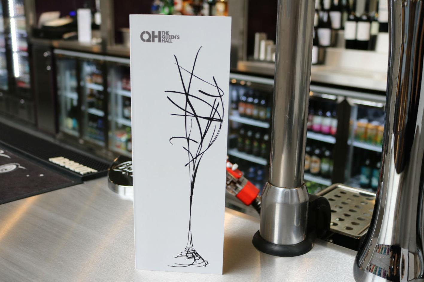 Extensive and improved wine list