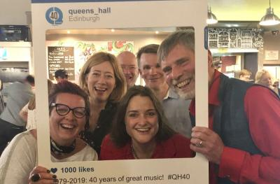 Sally Dyson, Fiona Salzen, Stephen Brown, Grant Mackenzie, Peter Cannell and Anna Poole, The Queen's Hall Board