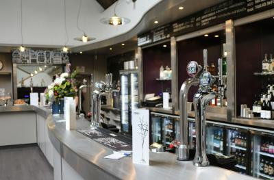 The new Queen's Hall bar