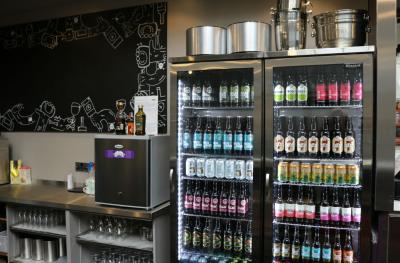 We stock a large range of craft beer