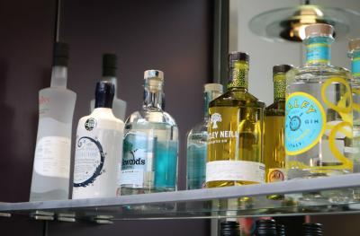Range of premium gins