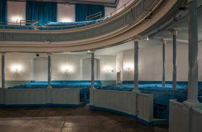The Queen's Hall auditorium side stalls