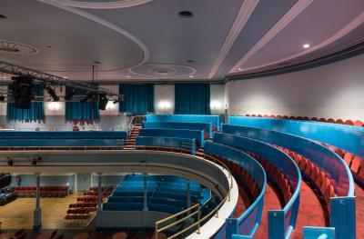 The Queen's Hall auditorium upper gallery