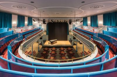 The Queen's Hall auditorium full overview from gallery