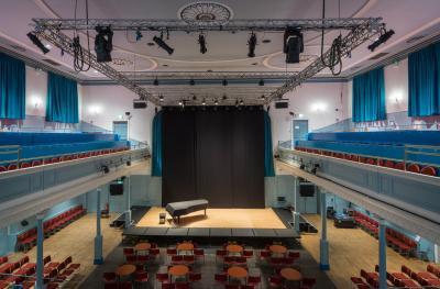 The Queen's Hall auditorium