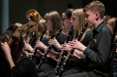 Resonate clarinet players