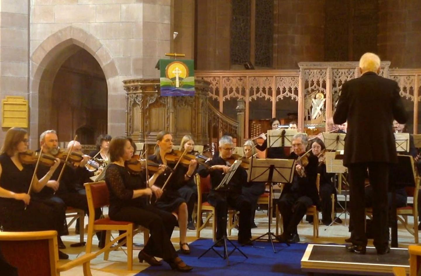 Meadows Chamber Orchestra in Inverleith St Serf's Church