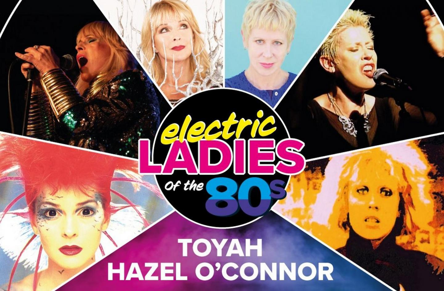Toyah and Hazel O'Connor